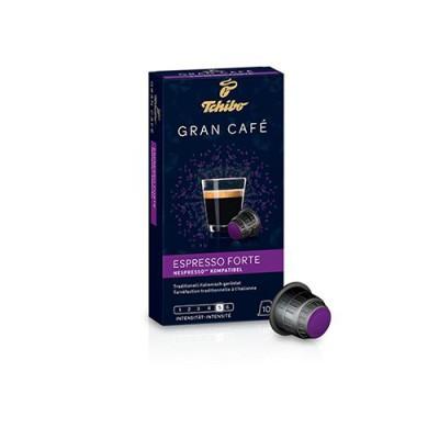 Tchibo Gran Café Espresso Forte - 10 капсули, съвместими с Nespresso