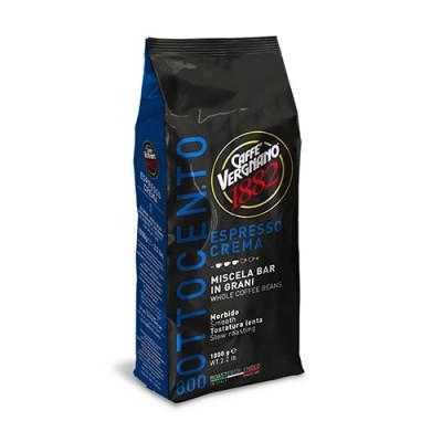 Caffè Vergnano 1882 Espresso Crema - 1 кг кафе на зърна