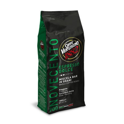 Caffè Vergnano 1882 Espresso Dolce - 1 кг кафе на зърна