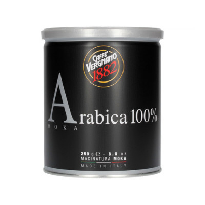 Caffè Vergnano 1882 Arabica 100% - 250 г мляно кафе