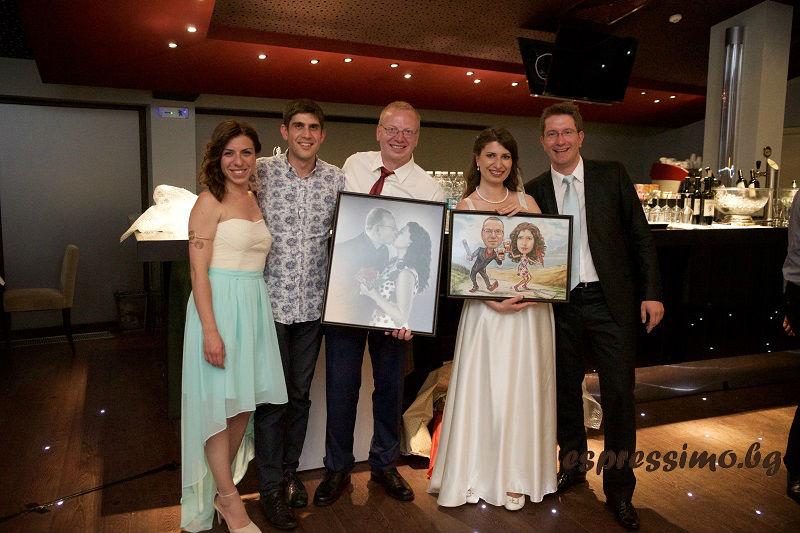 Сватбата на Анастасия и Маркус