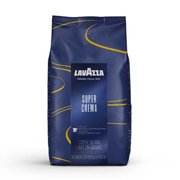 Кафе на зърна Lavazza Super Crema – 1 кг